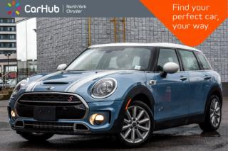 Used 2018 MINI Cooper Clubman Cooper S|Pano.Sunroof|GPS|Backup.Cam|Bluetooth|SiriusXM|Keyless.Go| for sale in Thornhill, ON