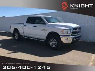 Used 2017 RAM 3500 SLT Crew Cab 4x4 | 6.7L Cummins Turbo Charged | 5th Wheel & Gooseneck Towing | Power-folding Mirrors for sale in Weyburn, SK