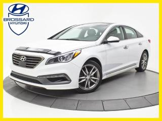 Used 2016 Hyundai Sonata ULTIMATE, TURBO, CUIR, TOIT PANO for sale in Brossard, QC