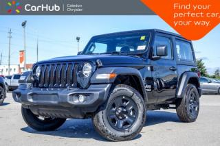 New 2019 Jeep Wrangler New Car Sport|4x4|Hard Top|Bluetooth|Backup Cam|Keyless Go|Air Conditioning for sale in Bolton, ON