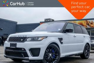 Used 2016 Land Rover Range Rover Sport SVR|4x4|Navi|Pano Sunroof|Backup Cam|Bluetooth|Leather|20