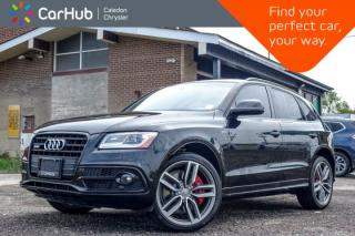 Used 2016 Audi SQ5 3.0T Technik|Quattro|Navi|Pano Sunroof|Backup Cam|Bluetooth|Leather|Keyless Entry|20