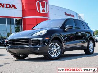 Used 2016 Porsche Cayenne Base  *** ONE OWNER --- NO ACCIDENTS ***   THIS SPORT LUXURY VEHICLE IS PRICED TO MOVE!!! for sale in Milton, ON