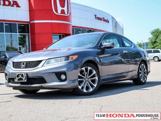 Used 2015 Honda Accord EX-L-NAVI V6 EX-L    *** ONE OWNER - - - CLEAN CARFAX   NO ACCIDENTS *** for sale in Milton, ON