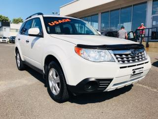 Used 2012 Subaru Forester 2.5X Convenience for sale in Lévis, QC