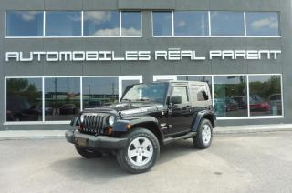 Used 2007 Jeep Wrangler Sahara Gar for sale in Québec, QC