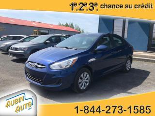 Used 2015 Hyundai Accent GL , automatique , sièges chauffants for sale in St-Agapit, QC