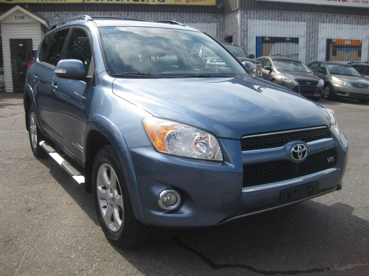 2009 Toyota RAV4 Limited V6 4WD AC Htd Leather PL PM PW Sunroof
