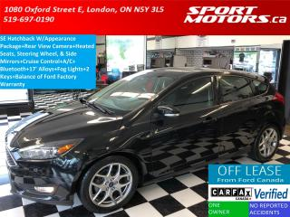 Used 2015 Ford Focus SE W/Appearance PKG+Bluetooth+Camera+Heated Seats for sale in London, ON
