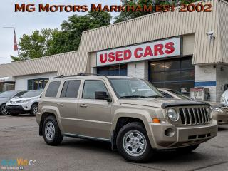 Used 2010 Jeep Patriot north for sale in Markham, ON
