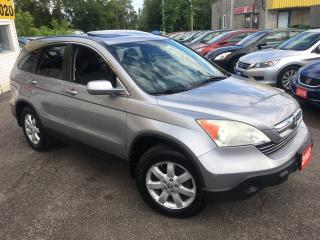 Used 2007 Honda CR-V EX-L/ NAVI/ BACK UP CAM/ LEATHER/ SUNROOF/ ALLOYS! for sale in Scarborough, ON