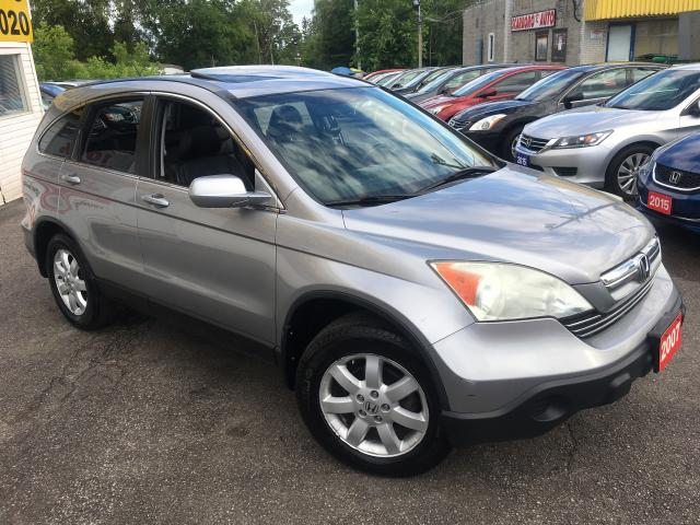2007 Honda CR-V EX-L/ NAVI/ BACK UP CAM/ LEATHER/ SUNROOF/ ALLOYS!