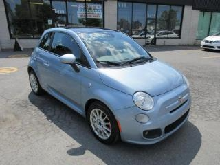 Used 2013 Fiat 500 SPORT **CUIR+TOIT OUVRANT** for sale in St-Hubert, QC