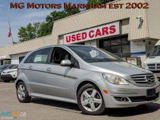 Used 2006 Mercedes-Benz B-Class B-200 for sale in Markham, ON