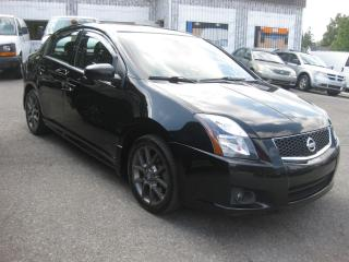 Used 2012 Nissan Sentra SE-R AC FWD Nav Reverse Cam Sunroof PL PM PW for sale in Ottawa, ON