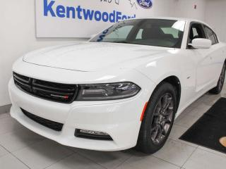 Used 2018 Dodge Charger GT AWD with heated seats, sunroof, back up cam for sale in Edmonton, AB
