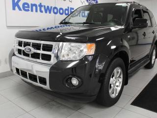 Used 2011 Ford Escape Limited SVT 4x4 V6, sunroof, heated power leather seats for sale in Edmonton, AB