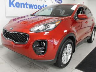 Used 2019 Kia Sportage LX AWD with heated seats and a back up cam for sale in Edmonton, AB