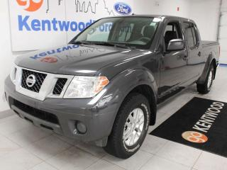 Used 2014 Nissan Frontier SV 4x4 grey on grey and here to stay for sale in Edmonton, AB