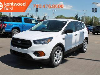 New 2019 Ford Escape S FWD, 12v frt/rear powerpoints, sync voice activated sys, rear privacy glass for sale in Edmonton, AB