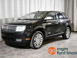 Used 2010 Lincoln MKX HEATED + COOLED FRONT SEATS | HEATED BACK SEATS | NAVIGATION | POWER LIFTGATE for sale in Red Deer, AB