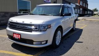 Used 2013 Ford Flex SEL-AWD-LEATHER-PWR SUNROOF-HEATED SEATS-BLUETOOTH for sale in Tilbury, ON