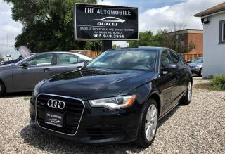 Used 2013 Audi A6 3.0T AWD NAVI NO ACCIDENT for sale in Mississauga, ON