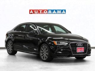Used 2015 Audi A3 S-Line Navigation Leather Panoramic Sunroof for sale in Toronto, ON