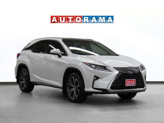 2016 Lexus RX 350 4WD Navigation Leather Pano-Sunroof Backup Cam