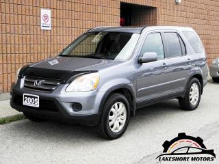 Used 2005 Honda CR-V EX-L for sale in Waterloo, ON