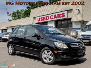Used 2008 Mercedes-Benz B-Class B-200 for sale in Markham, ON