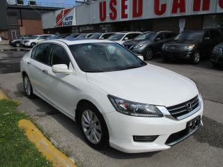 Used 2014 Honda Accord EX-L~LEATHER~SUNROOF~SIDE & BACK-UP CAM.~CERTIFIED for sale in Toronto, ON