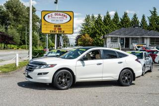 Used 2010 Honda Accord Crosstour EX-L w/Navi, Reverse Cam, Leather, Sunroof, Loaded for sale in Surrey, BC