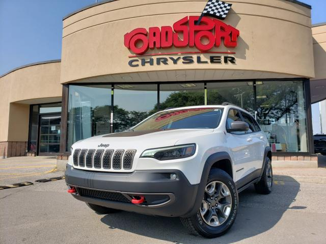 2019 Jeep Cherokee Trailhawk Elite+NAV-READY+PAN-ROOF+LEATHER+LOADED
