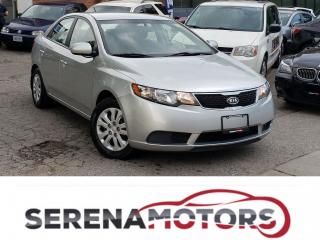 Used 2013 Kia Forte LX | AUTO | ONE OWNER | NO ACCIDENTS for sale in Mississauga, ON