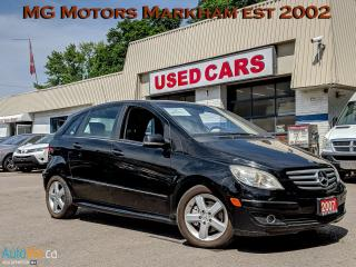 Used 2007 Mercedes-Benz B-Class B-200 for sale in Markham, ON