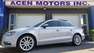 2015 Audi A3 2.0T Progressiv-AWD- QUATRO. NO ACCIDENTS, EXCEL