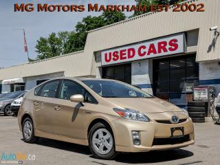 Used 2010 Toyota Prius Hybrid for sale in Markham, ON