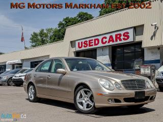 Used 2005 Mercedes-Benz E-Class E-500 for sale in Markham, ON