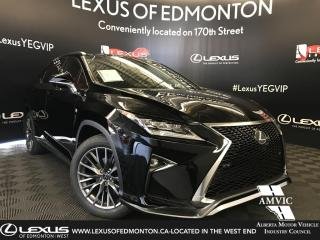 Used 2019 Lexus RX 350 F Sport Series 3 for sale in Edmonton, AB