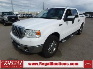 Used 2008 Ford F-150 LARIAT SuperCrew 4WD for sale in Calgary, AB