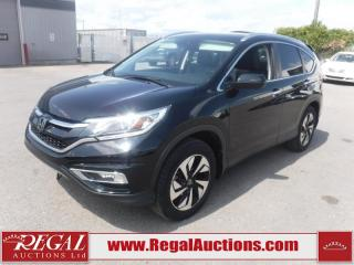 Used 2015 Honda CR-V TOURING 4D UTILITY AWD for sale in Calgary, AB