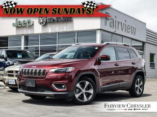 Used 2019 Jeep Cherokee Limited FWD l V6 l HEATED/VENTED LEATHER l for sale in Burlington, ON