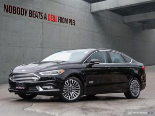 Used 2017 Ford Fusion Energi Titanium, Luxury, Driver Assist Package, Roof, EV for sale in Mississauga, ON
