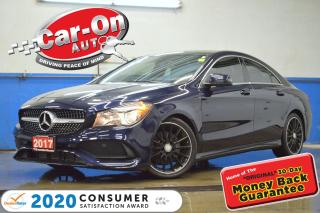 Used 2017 Mercedes-Benz CLA-Class CLA250 4MATIC AWD LEATHER NAV PANO ROOF 19,000 KM for sale in Ottawa, ON