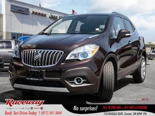 Used 2014 Buick Encore Premium - Leather, Htd Seats, Back Up Cam, Blue-To for sale in Etobicoke, ON