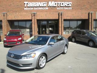 Used 2014 Volkswagen Passat COMFORTLINE | LEATHER | SUNROOF | HEATED SEATS | B\T for sale in Mississauga, ON