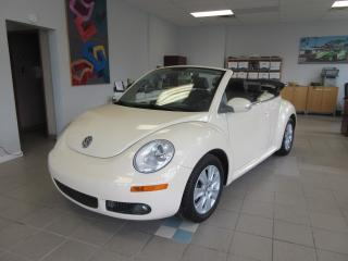 Used 2010 Volkswagen New Beetle Convertible 2dr Comfortline for sale in Newmarket, ON