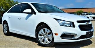 Used 2016 Chevrolet Cruze Limited 4 Cylinder Automatic LOADED for sale in Brampton, ON