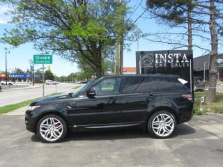 Used 2015 Land Rover Range Rover Sport Autobiography(SOLD) 2015 Land Rover Range Rover Sport Autobiography for sale in Brampton, ON